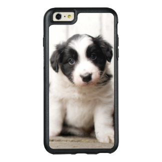 Chiot de border collie coque OtterBox iPhone 6 et 6s plus