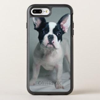 Chiot de bouledogue français à l'attention coque otterbox symmetry pour iPhone 7 plus