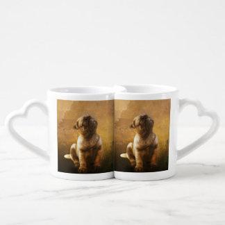 Chiot de carlin mug