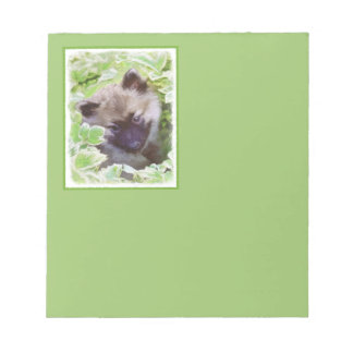 Chiot de Keeshond Blocs Notes