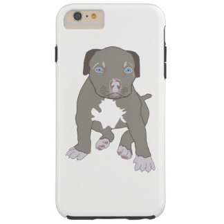 Chiot de Pitbull Coque iPhone 6 Plus Tough