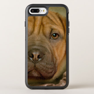 Chiot de Sharpei-Beagle Coque Otterbox Symmetry Pour iPhone 7 Plus