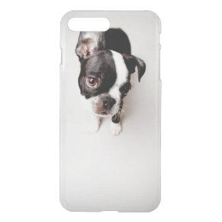 Chiot d'Edison Boston Terrier Coque iPhone 7 Plus