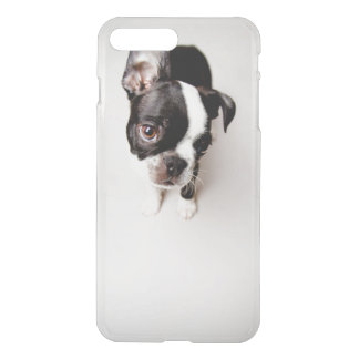 Chiot d'Edison Boston Terrier Coque iPhone 8 Plus/7 Plus