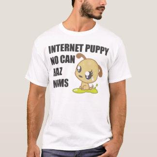 Chiot d'Internet - lumière T-shirt