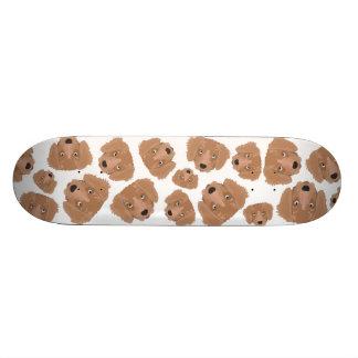 Chiot effronté mignon skateboard 21,6 cm