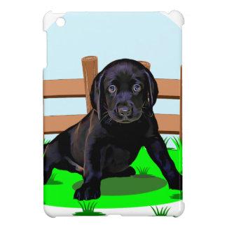 Chiot mignon de chien de Labrador Coque iPad Mini