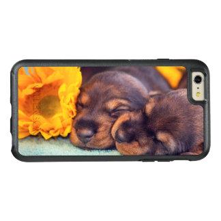 Chiots adorables de sommeil Doxen Coque OtterBox iPhone 6 Et 6s Plus