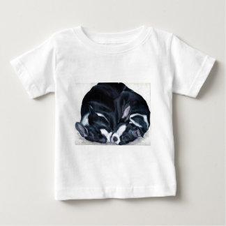 Chiots de Boston Terrier T-shirt Pour Bébé