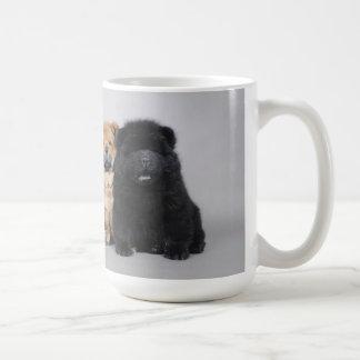 Chiots de bouffe de bouffe mug