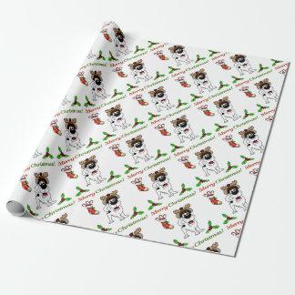 Chiots de Noël Papiers Cadeaux