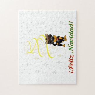 Chiots de Noël Puzzle