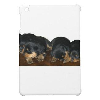 chiots de rottweiler coque pour iPad mini