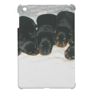Chiots de rottweiler étui iPad mini