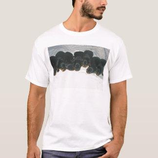 Chiots de rottweiler t-shirt