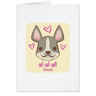 Chiots de Valentine - Frenchie : carte