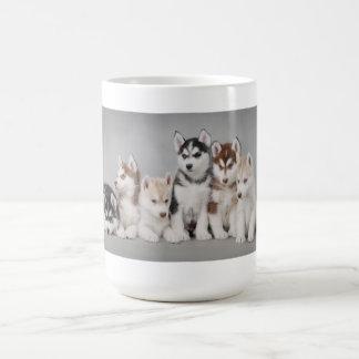 Chiots enroués mug