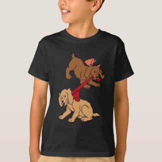 Chiots espiègles t-shirt