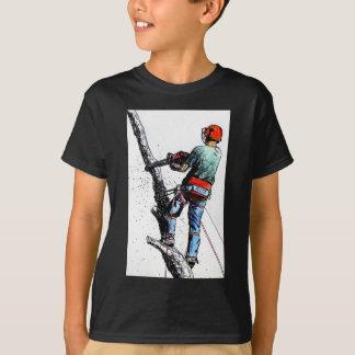 Chirurgien d'arbre d'arboriste Stihl T-shirt