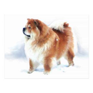 CHLOE SE TIENT DANS la carte postale de heARTdog