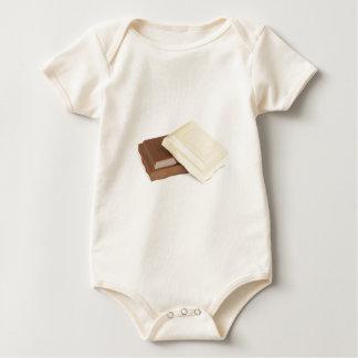 Chocolat blanc et brun body