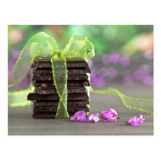 Chocolat Carte Postale