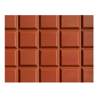 Chocolat - carte postale