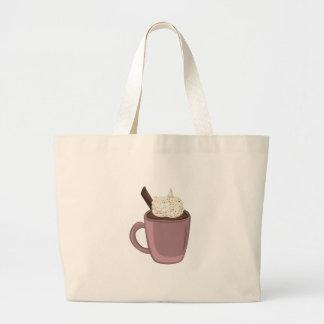 Chocolat chaud sacs de toile