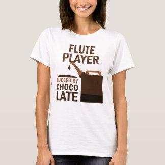 Chocolat (drôle) de joueur de cannelure t-shirt