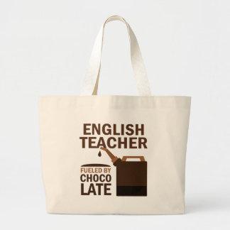 Chocolat (drôle) de professeur d'Anglais Sacs En Toile