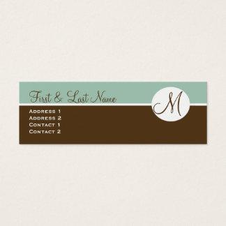 Chocolat élégant et carte bleue de profil de