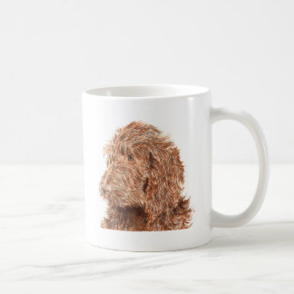 Chocolat Labradoodle Mug
