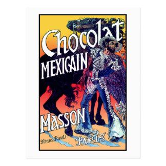 Chocolat Mexicain par Grasset Carte Postale