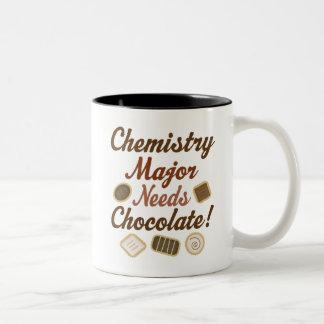 Chocolat principal de chimie tasse 2 couleurs