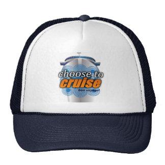 Choisissez de croiser casquette réglable