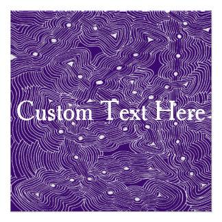 Choisissez l art abstrait de couleur d arrière - cartons d'invitation