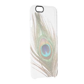 Choisissez la plume de paon de couleur coque iPhone 6/6S