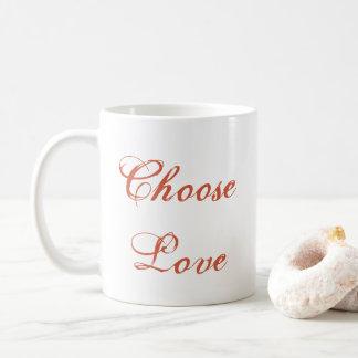 Choisissez la tasse d'amour