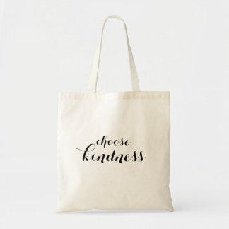 Choisissez le sac fourre-tout à gentillesse