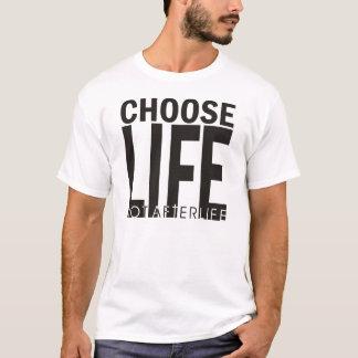 Choisissez le T-shirt de la vie après la mort de