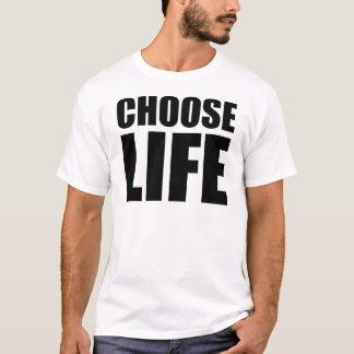 Choisissez le T-shirt des hommes de la vie