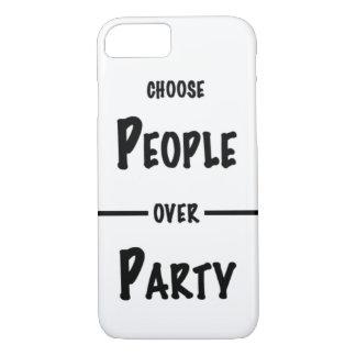 Choisissez les personnes au-dessus du coque iphone