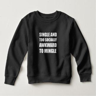 Choisissez socialement maladroit se mélangent sweatshirt