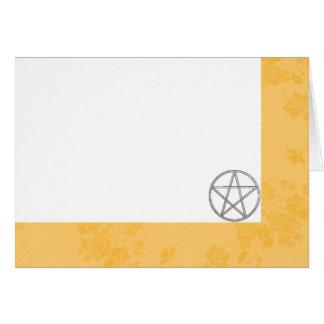 Choisissez votre renoncule et pentagramme de cartes