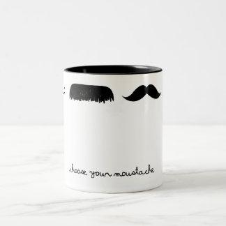 choisissez votre tasse de moustache