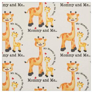 Choisissez votre tissu de girafe de couleur
