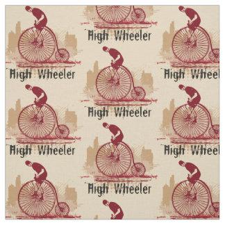 Choisissez votre tissu vintage de bicyclette