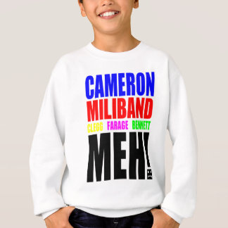 Choix BRITANNIQUES d'élection Sweatshirt