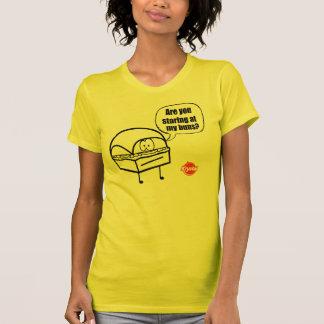 Choix de Krystal - regard fixe de petit pain T-shirt
