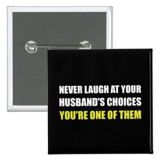 Choix de maris de rire badge
